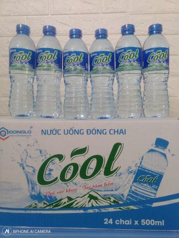 Lốc chai pet Cool 500ml -24 chai