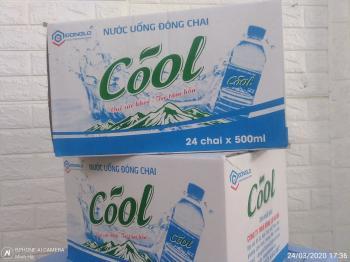 Thùng đựng chai pet Cool 500ml-24 chai